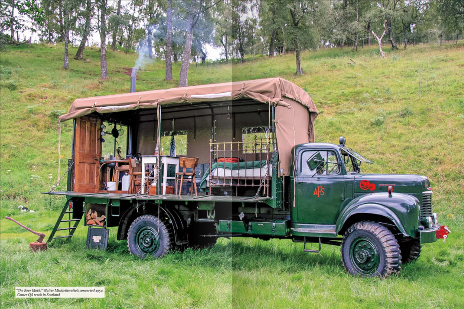 The Beermoth A 1954 Commer Truck